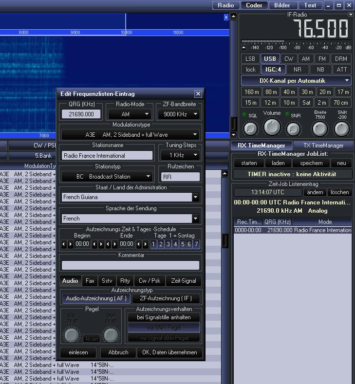 RadioJet RX-Timer