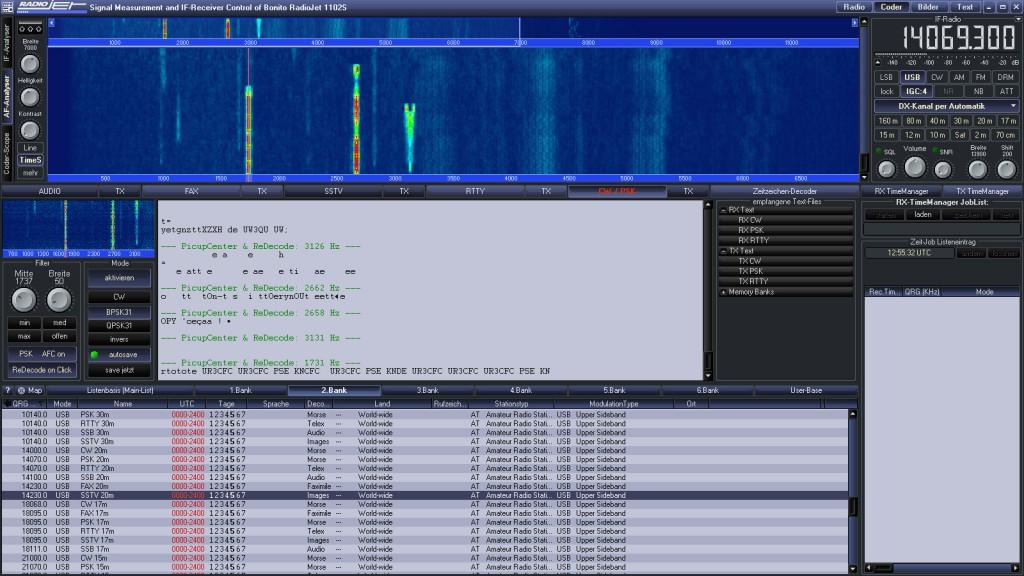 RadioJet Decoder PSK31