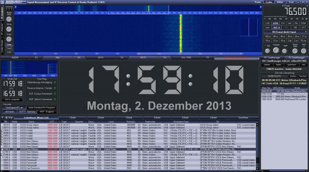 RadioJet Decoder DCF77