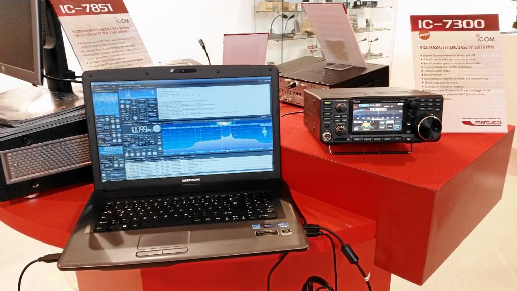 RadioCom 6 und IC-7300