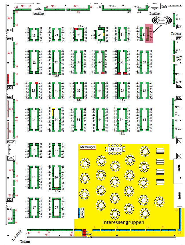 DAT 2016 Hallenplan