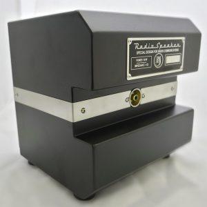 RADIOSPEAKER® ist ein passiver Stationslautsprecher, der speziell für beste Audiowiedergabequalität im Funkverkehr, unabhängig von der Modulation entwickelt wurde.